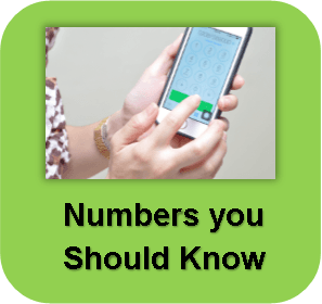 numbers you should know