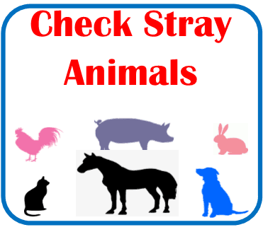 Check Stray Animals Page Click here