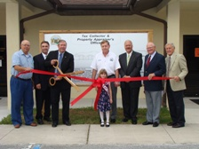 Tax Collector & Property Appraiser Ribbon Cutting
